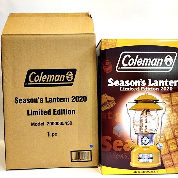 コールマン シーズンズランタン Coleman Lantern 2020年モデル 未開封