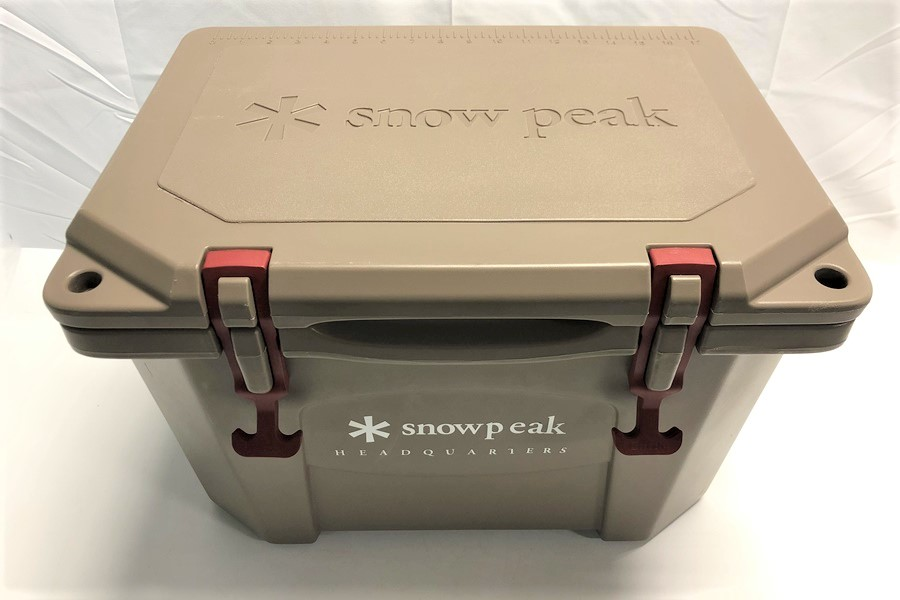 snow peak×Grizzly ハードロッククーラー 20QT
