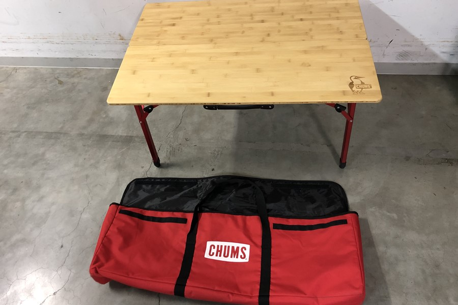 CHUMS チャムス バンブー テーブル 100