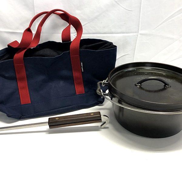 UNIFLAME ユニフレーム ダッチオーブン 10インチ リフレクター トートバッグ付き